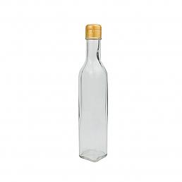 I 사각오일250/ 48개 사각 유리병 기름병